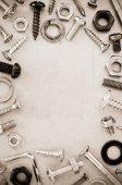 Hardware tools  background — Stock Photo