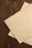Old paper envelopes — Stockfoto