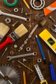 Tools and instruments set — Stock Photo