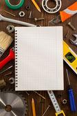 工具和工具集 — 图库照片
