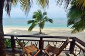 Panorama view of tropical  Island — Stock Photo