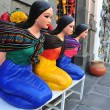 Mexican woman statues — Stock Photo #53025987