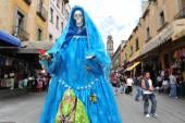 Religions in Mexico - Santa Muerte — Stock Photo