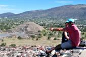 Pyramids of Teotihuacan -Mexico — Stock Photo