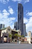 ブリスベンのスカイライン - ソレイユ タワー — ストック写真