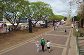 South Bank Parklands - Brisbane Australia — Stock Photo