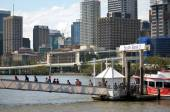 South Bank Parklands - Brisbane Australia — Stock Photo