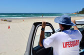 Salva-vidas australianos em Gold Coast Queensland Australia — Fotografia Stock