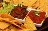 Mexican Food - Nachos — Stock Photo