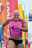 Grant Kenny race in Coolangatta Gold 2014 — Stock Photo