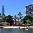 People paddle board in Gold Coast Queensland Australia — Stock Photo #57487027