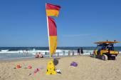 Australian Lifeguards in Gold Coast Queensland Australia — Stock Photo