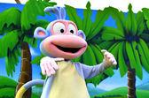Dora the Explorer Monkey Boots — Stock Photo