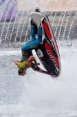 Jet Ski Show in Sea World Gold Coast Queensland Australia — Stock Photo