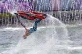 Jet Stunt Extreme Show in Sea World Gold Coast Queensland Austra — Stock Photo