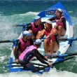 Surf rowers on Gold Coast Queensland Australia — Stock Photo #59563103