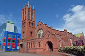 Palmerston North - New Zealand - All Saints Anglican Church — Stock Photo