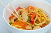Asian noodles dish — Stock Photo