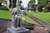 Moses statue in Auckland New Zealand  — Stock Photo