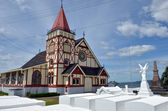 St Faith's Anglican Church in Rotorua - New Zealand — Stock Photo