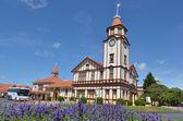 Tourism Rotorua Travel Office in Rotorua - New Zealand — Stock Photo