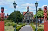 Rotorua Museum of Art and History - New Zealand — Stock Photo