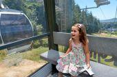 Skyline Gondola Cableway in Rotorua - New Zealand — Stock Photo