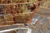 Waihi gold mine town - New Zealand — 图库照片