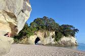 Te Whanganui-A-Hei (Cathedral Cove) Marine Reserve — Stock Photo