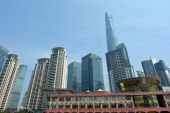 Shanghai - Pudong New Area — Stock Photo