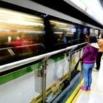 Passengers in Shanghai Metro - China — Stock Photo #73464871