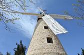 Montefiore Windmill in  Jerusalem — Stock Photo