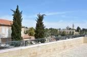 在耶路撒冷酒店游览 — 图库照片