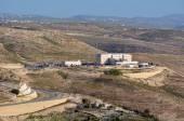 Israeli police headquarters near Maale — Stock Photo