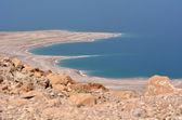 Landscape of the Dead Sea Israel — Stock Photo