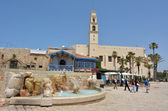 Zodiac Fountain in Kedumim Square — Stock Photo