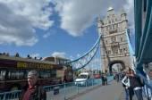 Tower Bridge in London - England UK — Stock Photo