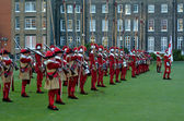 Pikemen and Musketeers of the Honourable Artillery Company — Stock Photo