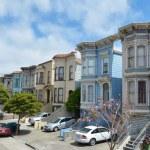 ������, ������: Row of Victorian Italianate houses in San Francisco