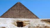 The Pyramid of Khufu — Stock Photo