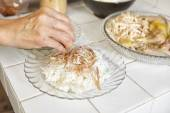 Food preparation for soto — Stock Photo