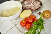 Indonesian chicken stew — Stockfoto