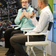 Tennis legend and Grand Slam Champion Billie Jean King during press conference at Billie Jean King National Tennis Center — Stock Photo #52372787