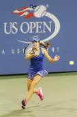 Fifteen years old tennis player Catherine Bellis during second round match at US Open 2014 — Stock Photo