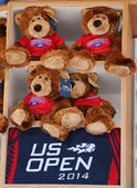 US Open 2014 souvenirs at the Billie Jean King National Tennis Center — Stock Photo