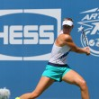 Постер, плакат: Five times Grand Slam champion Maria Sharapova practices for US Open 2014