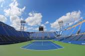Luis Armstrong Stadium at the Billie Jean King National Tennis Center during US Open 2014 tournament — Stock fotografie