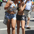 LGBT Pride Parade participants in New York City — Stock Photo #54440513