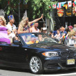 LGBT Pride Parade participants in New York City — Stock Photo #54440545
