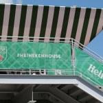 ������, ������: Third largest brewer in the world Heineken International opens Heineken Beer House at Billie Jean King Tennis Center during US Open 2014